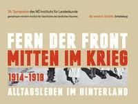 """Ernten und Essen im """"Großen Krieg"""""""