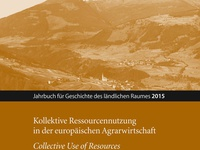 Rural Commons - Jahrbuch für Geschichte des ländlichen Raumes 12 (2015)