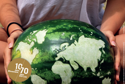 "Ernst Langthaler bei der Veranstaltungsreihe ""Denk.Mal.Global. Spannungsfeld Ernährung"""