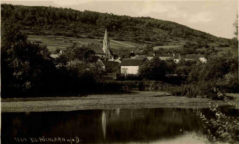 Klein-Pöchlarn 1929, Quelle: NÖLB Topographische Sammlung