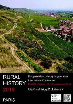 Plakat Rural History Conference 2019 Paris