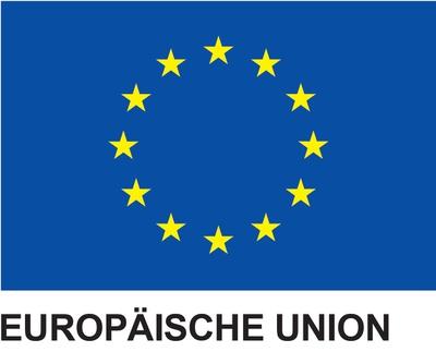 Logo Interreg EU-Flagge