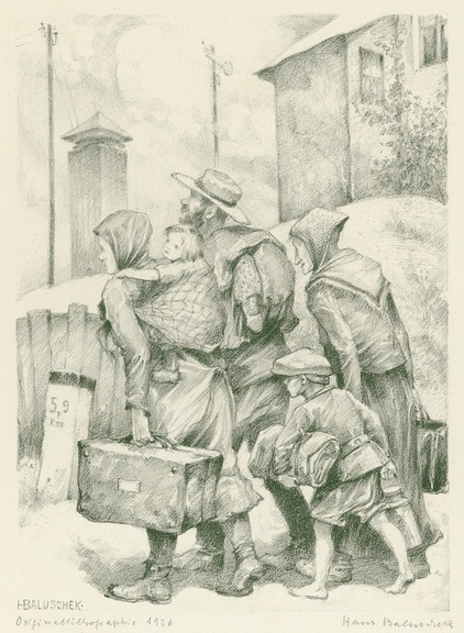 Überleben in der 'Krisenzeit' 1914–1950 – Brennpunkt Migration