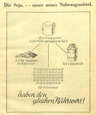 Wissensgeschichte der Sojabohne in Österreich 1870–1950