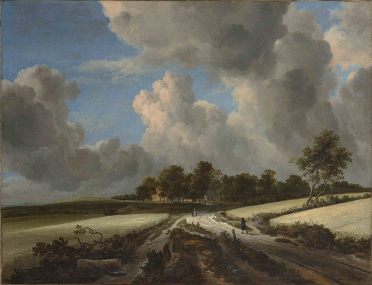 Jacob van Ruisdael, Wheat Fields, ca. 1670, Metropolitan Museum of Art CC0 1.0