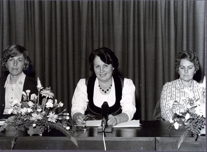Foundation of the Women Farmers Association (Bäuerinnenorganisation) in Lower Austria